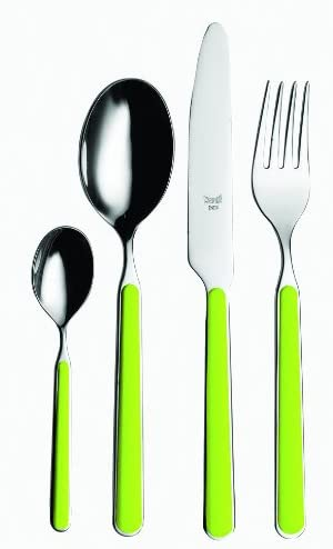 Mepra flatware-sets, Acid Green