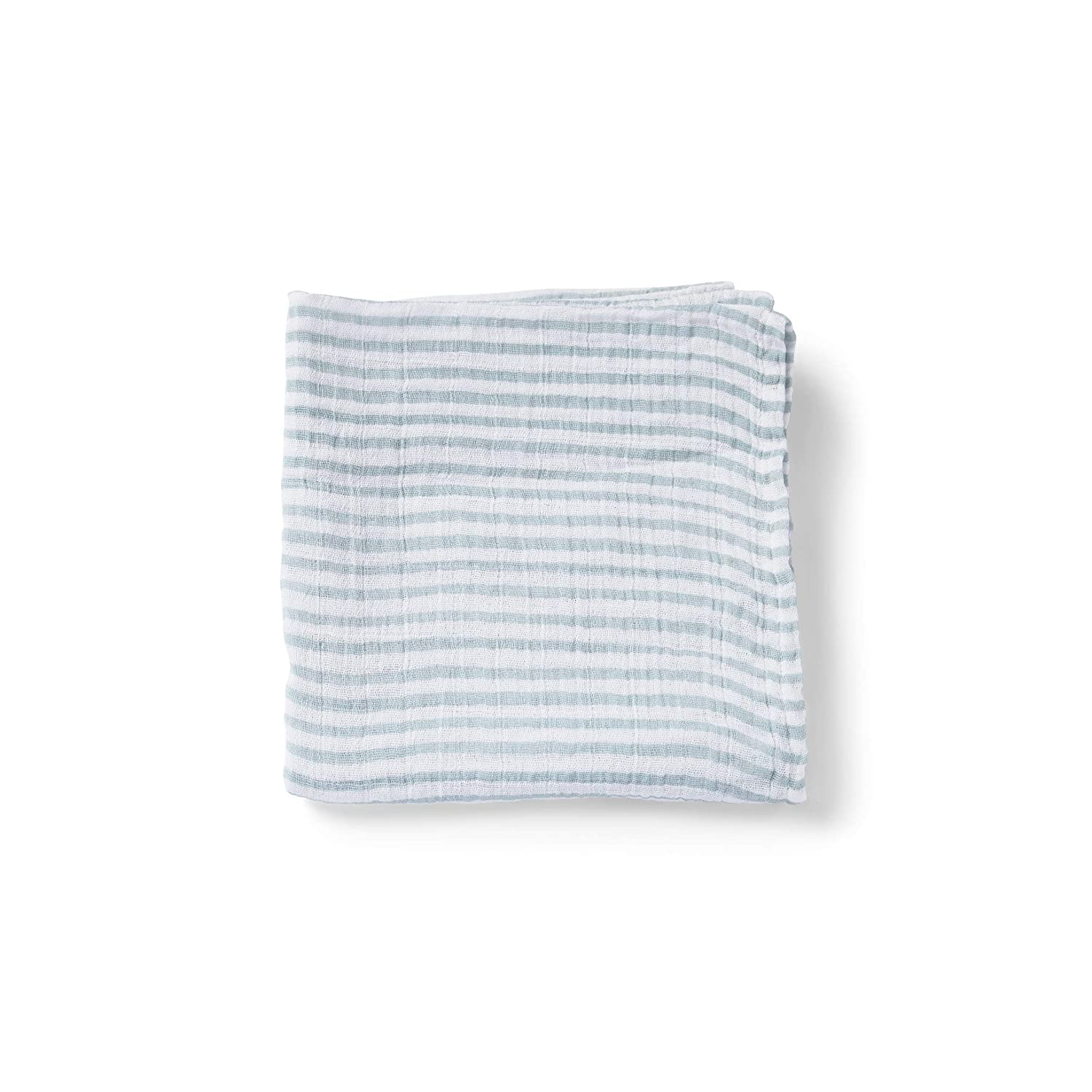 PEHR Stripes Away Sea Muslin Mini, Multi (STPASWSM02)