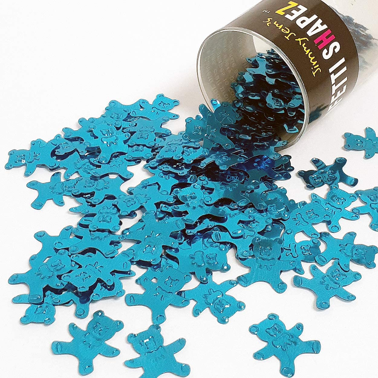 Confetti Teddy Bear in Blue Sky - Retail Pack #9432 QS0