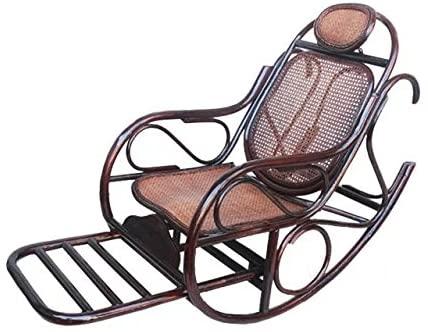 Natural Bamboo - Rattan Wicker Rocker/Rocking Chair/Longue/Relax Chair/seat