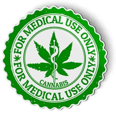 Medical Marijuana - Flexible Magnet - Car Fridge Locker - 3