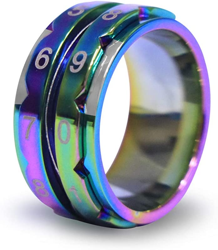 Knitpro 10435 Ring Stainless Steel 20.6 mm Rainbow