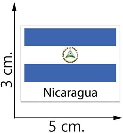 Nicaragua Flag Temporary Tattoos Sticker Body Tattoo