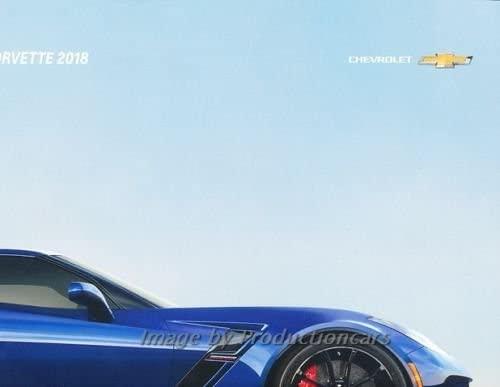 2018 Chevrolet Corvette 60-page BIG Sales Brochure Catalog - Stingray Z06 Z07