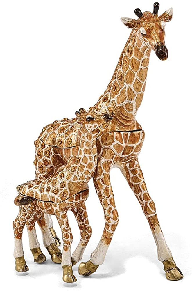 Sonia Jewels GINA and Georgie Mother and Baby Giraffes Trinket Box 4
