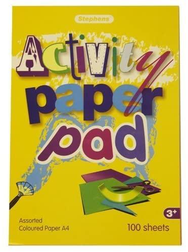 Stephens 100 Sheets A4 Activity Pad