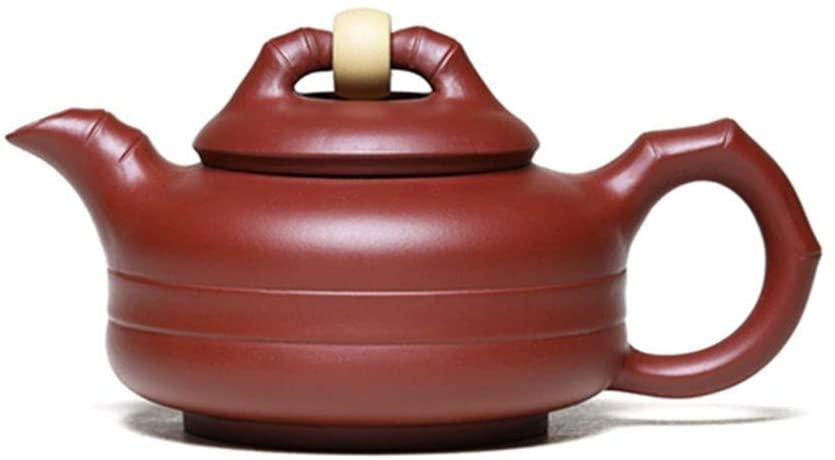 SHENLIJUAN Shilaiyunzhuan ore teapot famous handmade teapot tea Dahongpao (Color : Red)