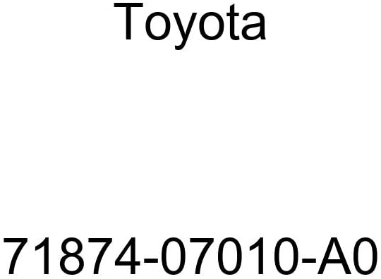 TOYOTA Genuine 71874-07010-A0 Seat Cushion Shield