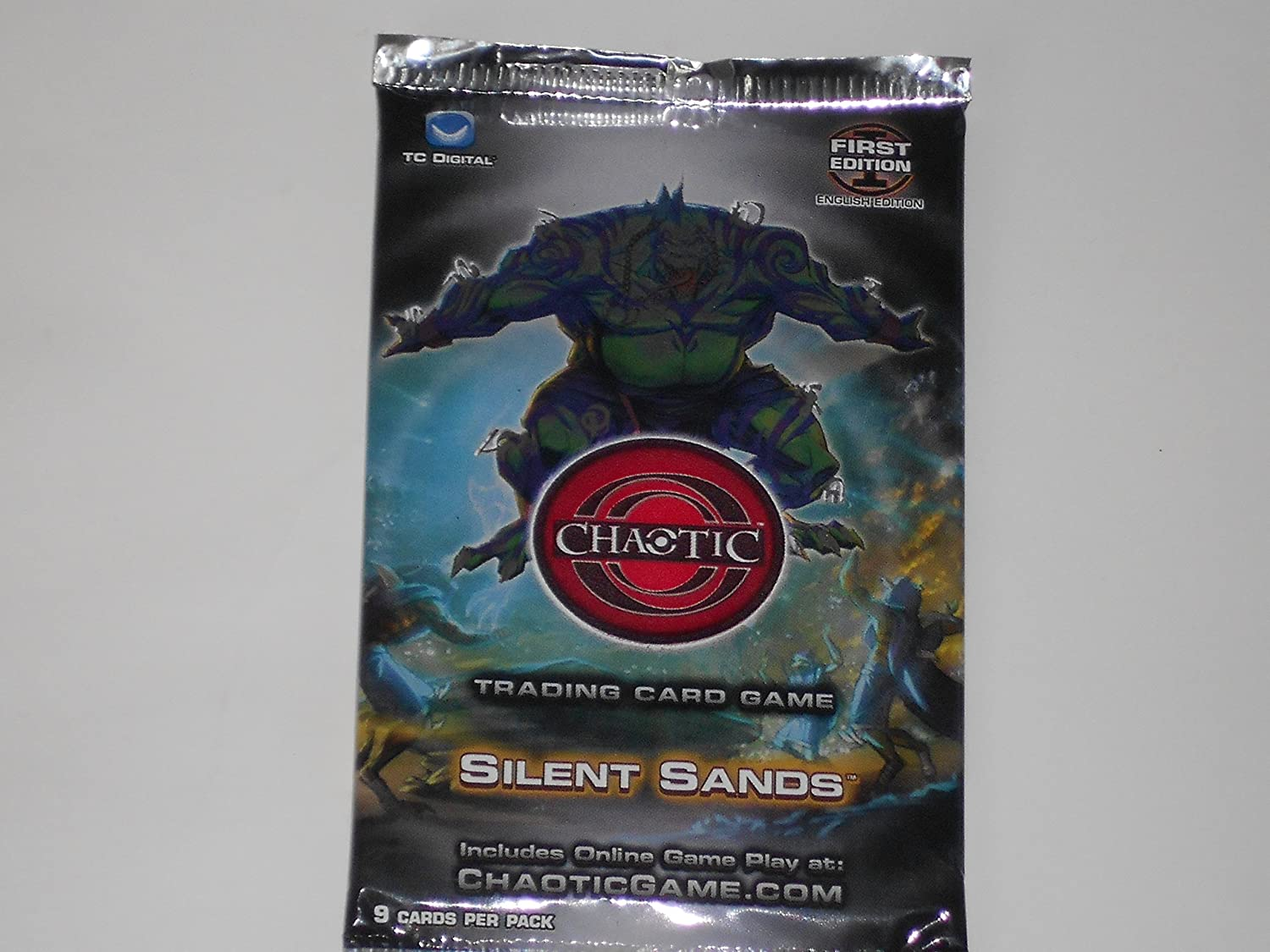 Chaotic Card Silent Sands Booster Pack