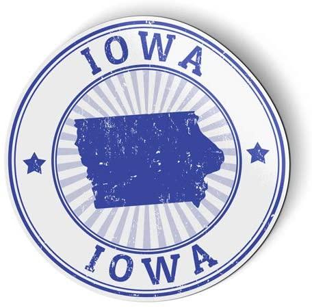 Iowa - Flexible Magnet - Car Fridge Locker - 5