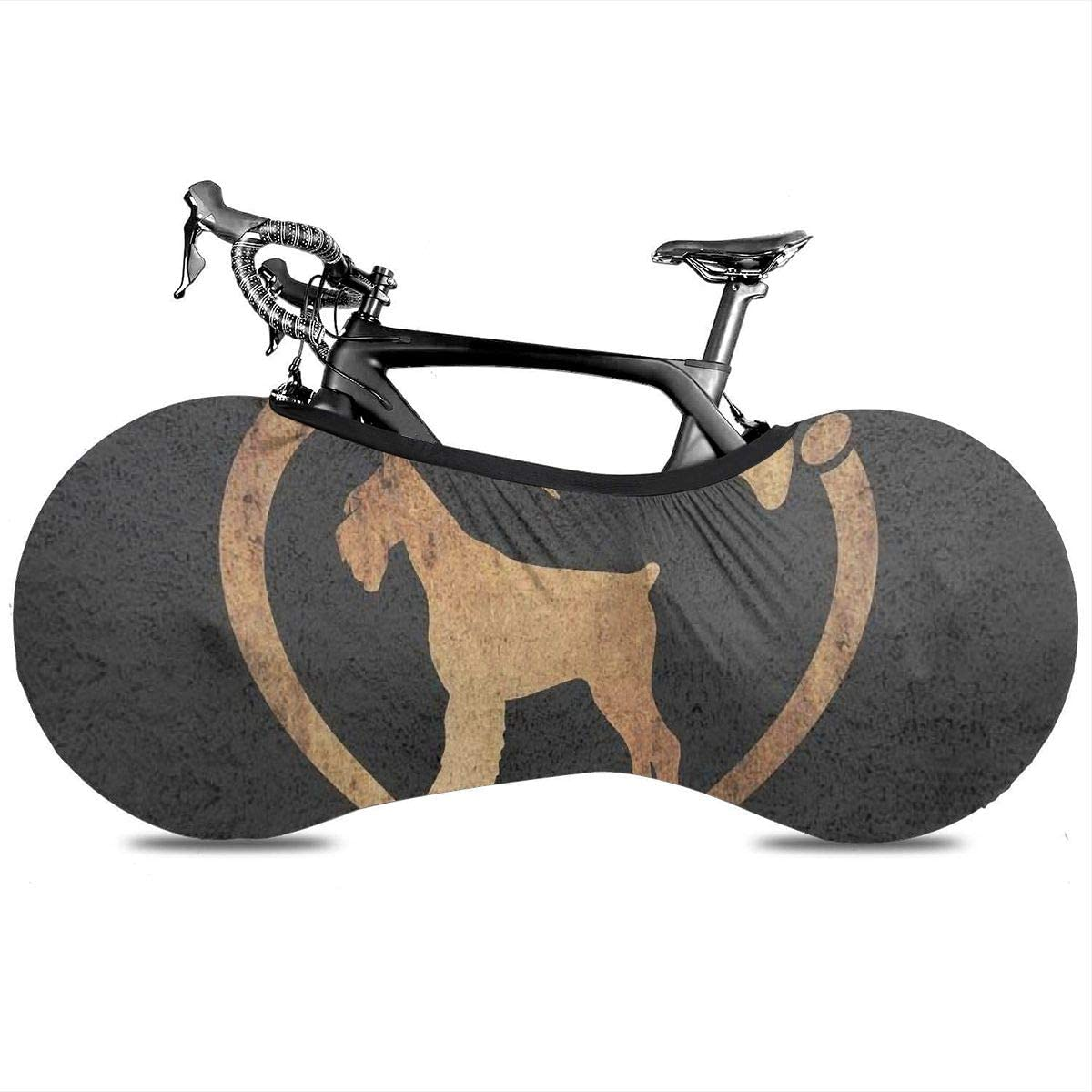 THONFIRE Bike Wheel Cover Jeans Dog Anti-dust Storage Bag Outdoor Scratch-Proof for Mountain Road Electric Tricycle