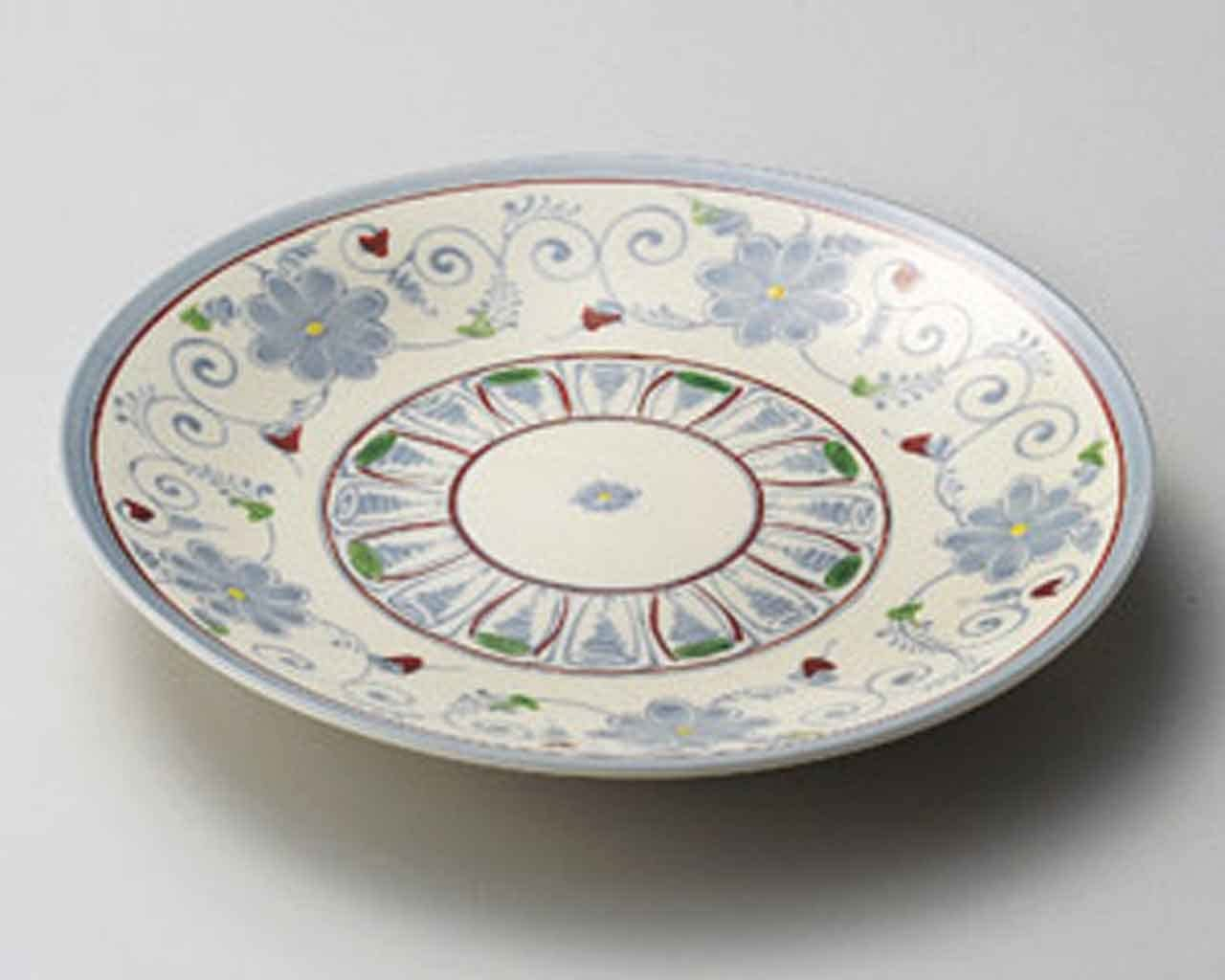 Annan 9inch SUSHI PLATE Beige porcelain Made in Japan