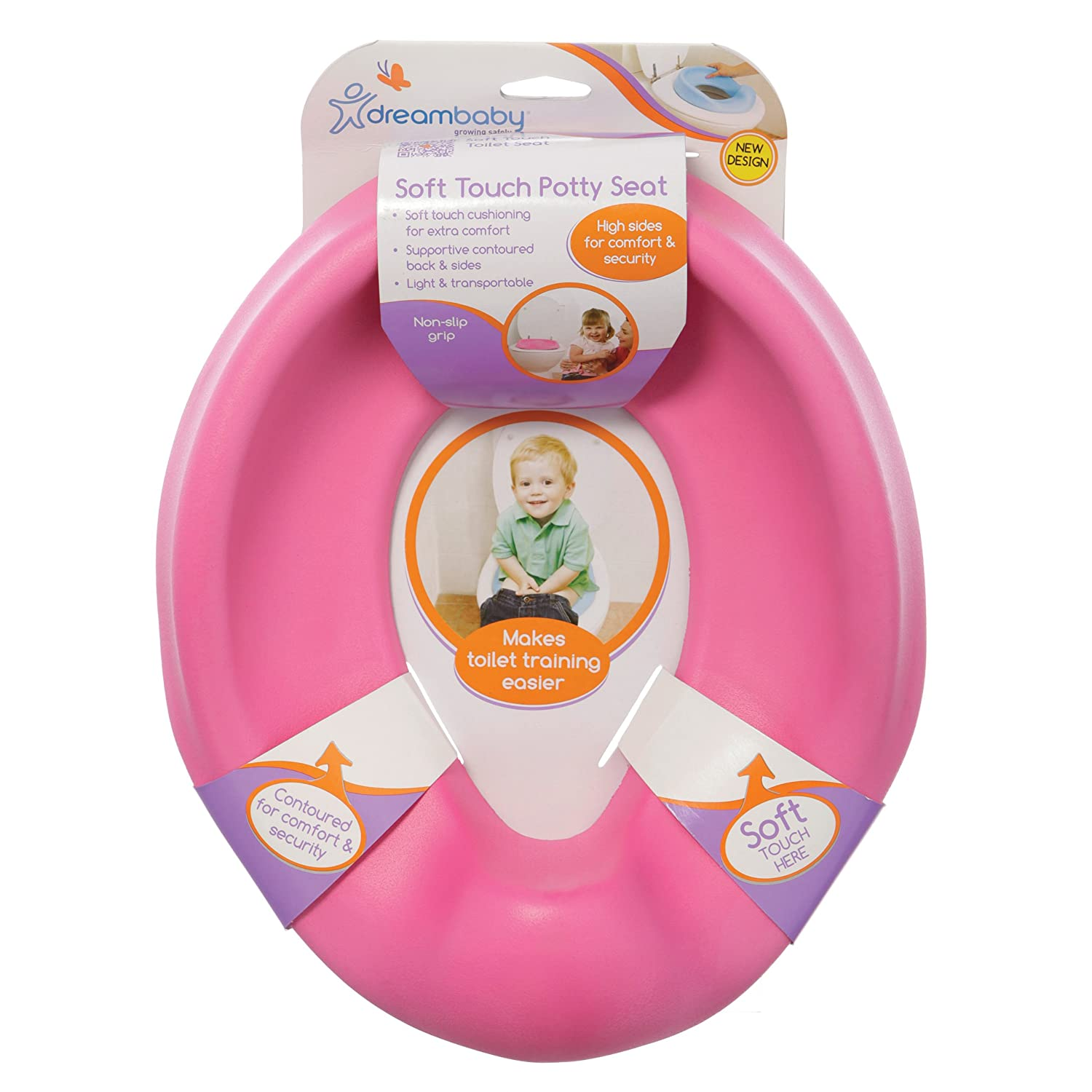Dreambaby Soft Touch Potty Seat, Pink