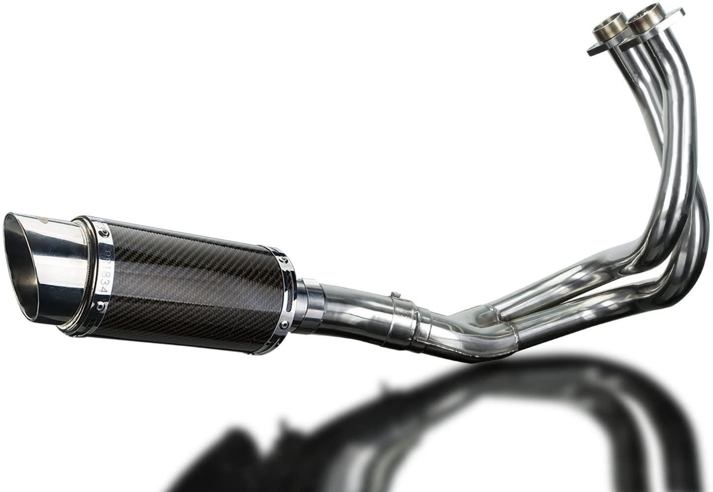 Delkevic Full 2-1 Exhaust compatible with Kawasaki Ninja 650 Mini 8