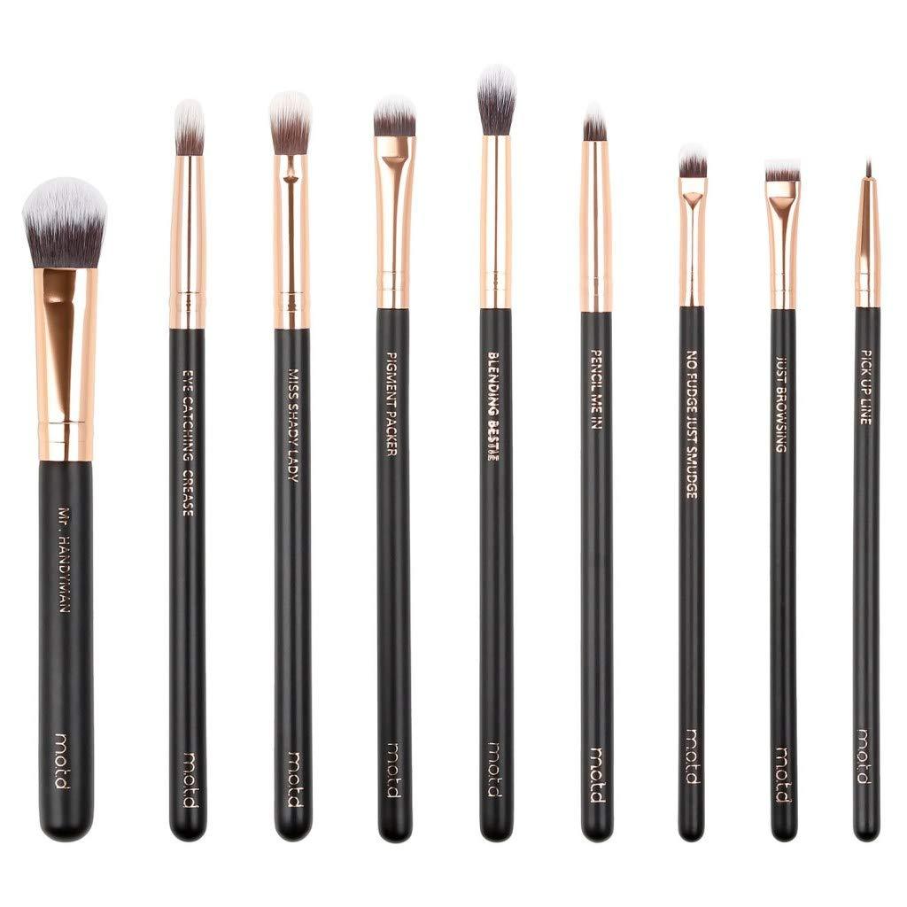 MOTD Lux Vegan Eye Makeup Brush Set