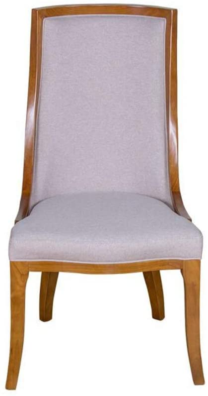 Solid Wood Dining Chair American Style Home Luxury Dining Chair Negotiating Hotel Chair Simple Makeup Chair