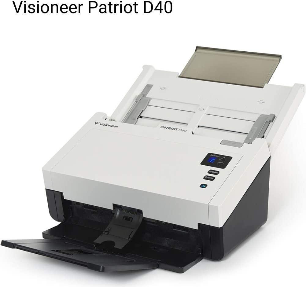Visioneer Patriot Pd40-u Sheetfed Scanner - 600 Dpi Optical - 60-60 - Duplex Scanning - USB