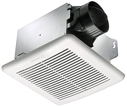 Delta Electronics (Americas) Ltd. GBR100H Delta BreezGreenBuilder Exhaust Bath Fan with Humidity, 100 CFM, With Dual Speed & Humidity Sensor