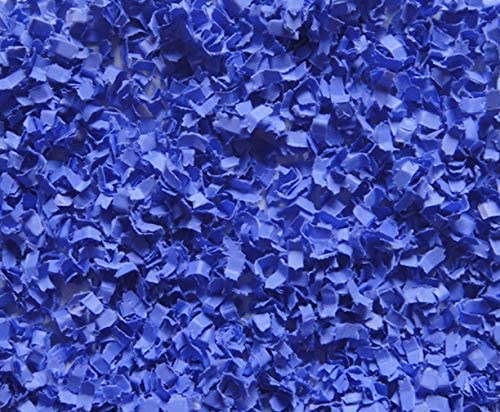 Paper Party Confetti - Micro cut - Blue - Birthday Party Bash - Party/Wedding/Luau/Shower Anniversary - Gift Basket Filler - Table Décor Party Accessories (CON-MIC-010)