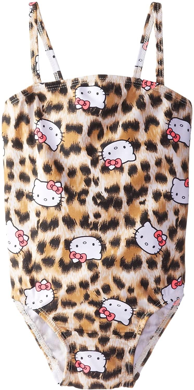 Hello Kitty Little Girls' Animal Print One Piece