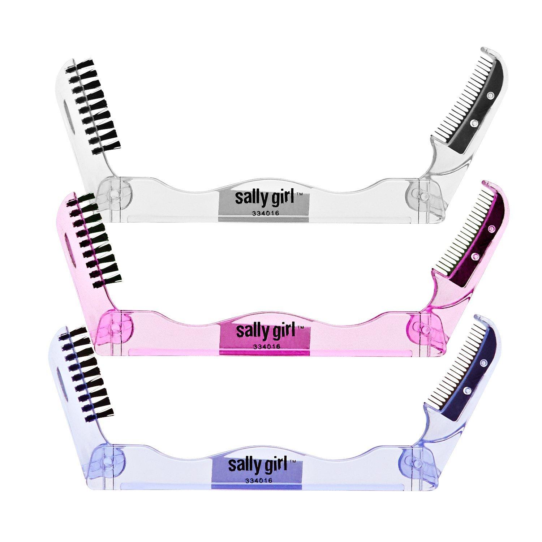 Sally Girl Duo Eyebrow Brush & Comb