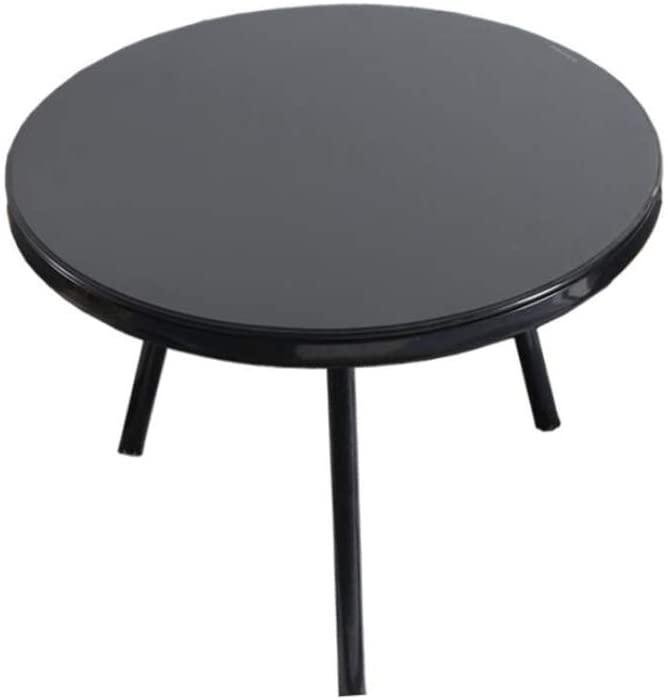GWW Perfect FurnitureRound Leisure Table, Tea Table Creative Iron Art Multifunction Living Room Restaurant Coffee Shop Bar Sofa Side Balcony Tea Table Tea Table (Size : 4048CM)