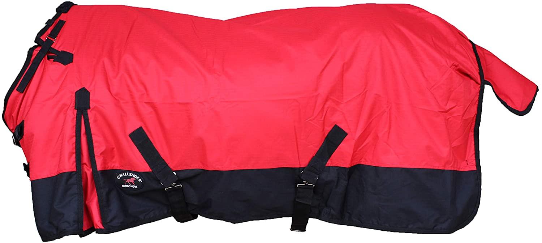 CHALLENGER 1000D Turnout Waterproof Medium Weight Fleece Lined Winter Blanket 104LG
