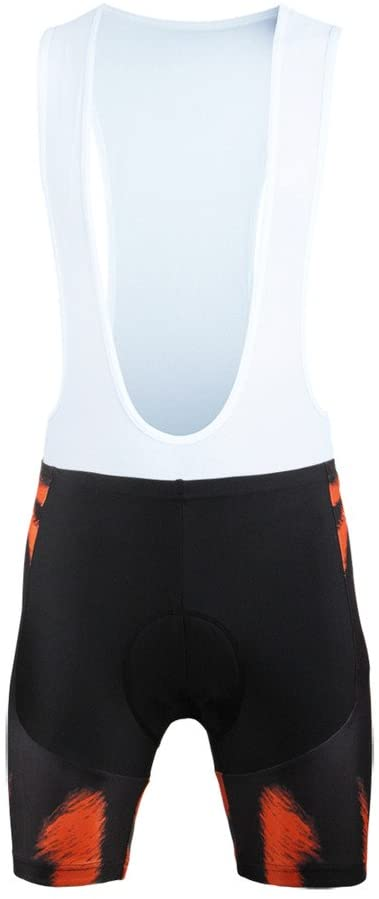 PaladinSport Women's Tiger Pattern Short Sleeve Cycling Jersey and Mountain Bike Clothing Set