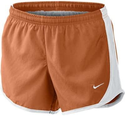 Nike Dri-fit Tempo Shorts Girls Dessert Orange (Large)