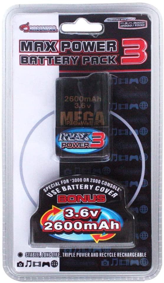 PSP Battery 2600mAh for PSP1000/PSP2000/PSP3000