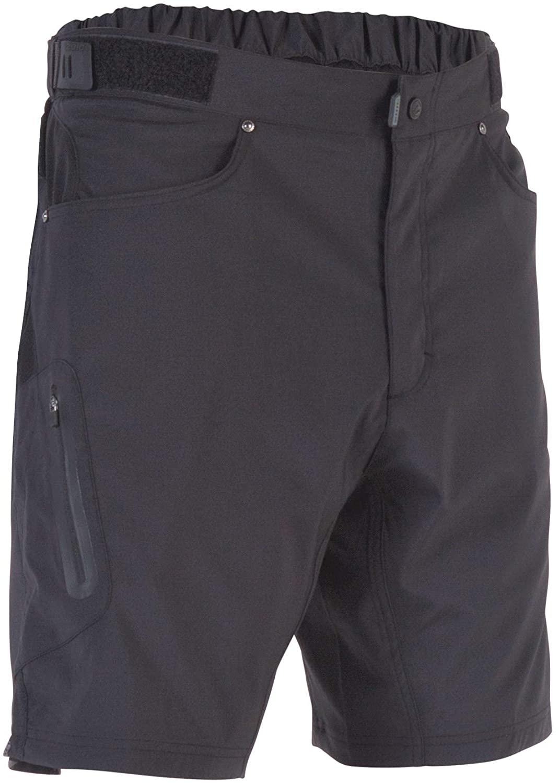 ZOIC Men's Ether 9 Cycling Shorts, Black, X-Large