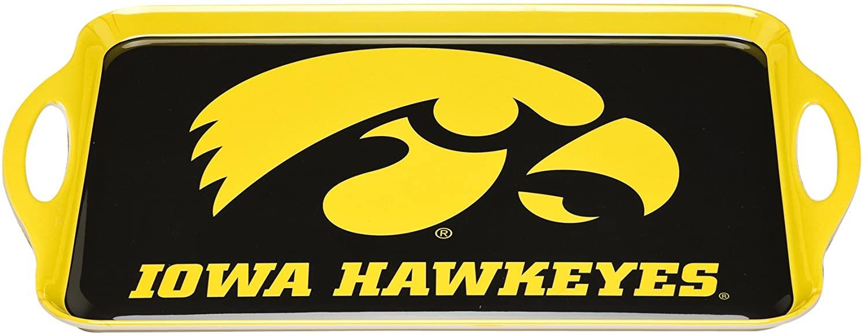 NCAA Iowa Hawkeyes Melamine Serving Tray
