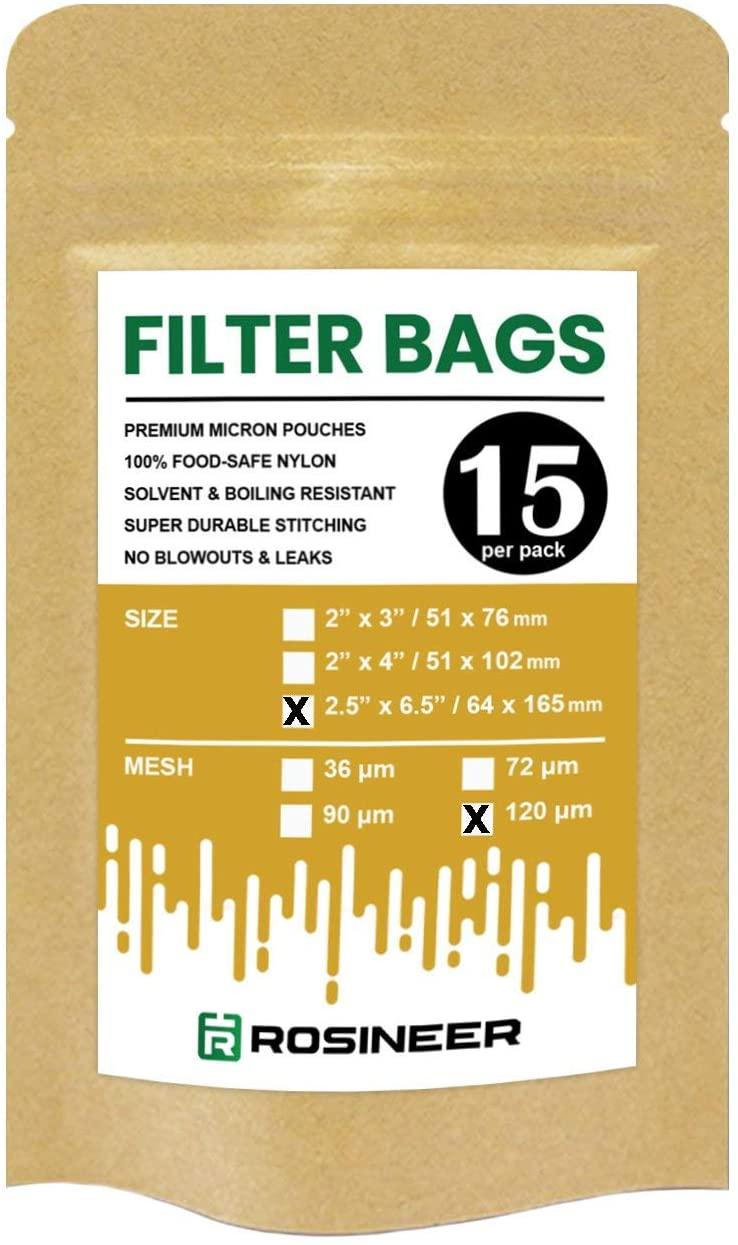Rosineer Premium Nylon Filter Bags, 2.5