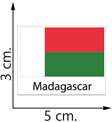 Madagascar Flag Temporary Tattoos Sticker Body Tattoo