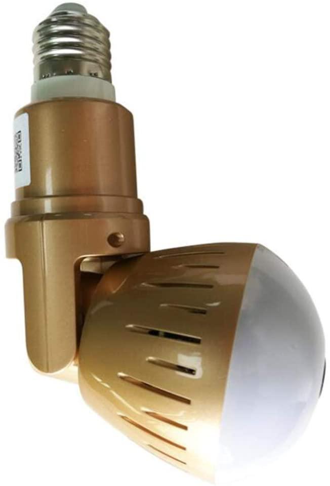 Panoramic Dual Light Source Bulb 360 Degree Wireless Camera WiFi Mobile Phone Remote Home Monitor