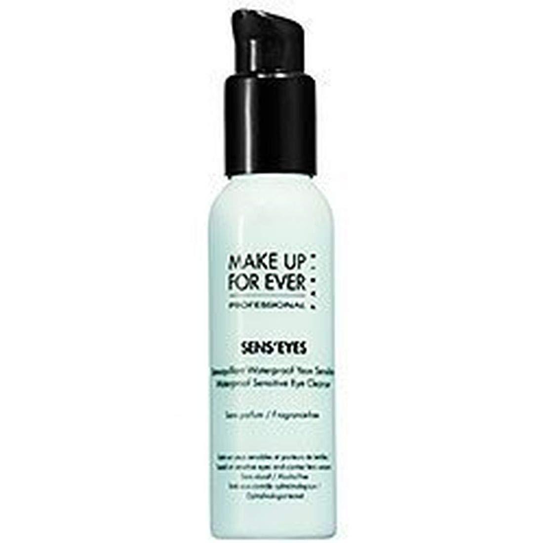 Make up for Ever Sens'eyes - Waterproof Sensitive Eye Cleanser 3.38 Fl. Oz -gel makeup remover for eyes and lips.