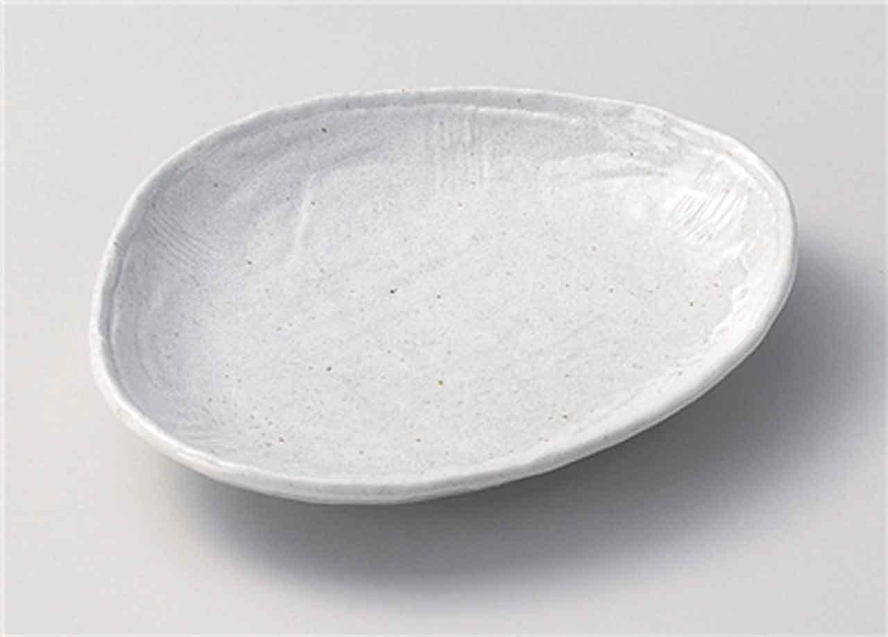 Sazanami 6.9inch Set of 2 Medium Plates porcelain Made in Japan