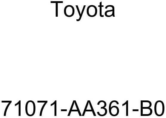 TOYOTA Genuine 71071-AA361-B0 Seat Cushion Cover