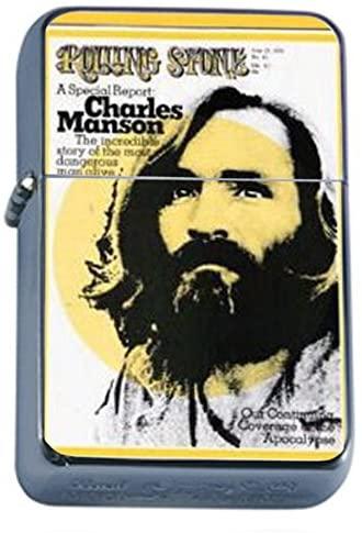 Charles Manson 1970 Rolling Stone Oil Lighter D-390