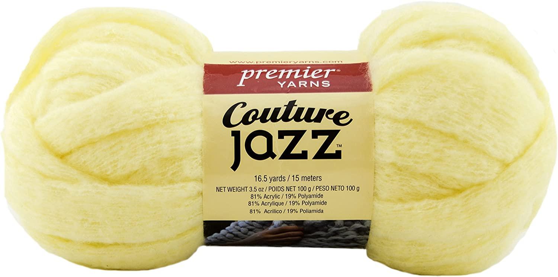 Premier Yarns 26-43 Couture Jazz Yarn-Tender Yellow