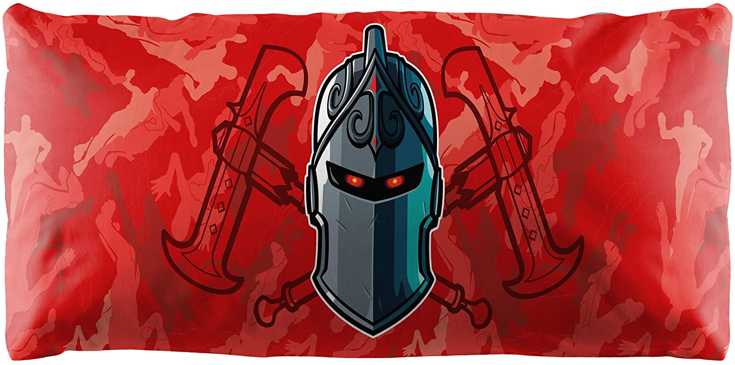 Jay Franco Fortnite Black Knight Body Pillow Cover - Kids Super Soft 1-Pack Bed Pillow Cover - Measures 20 Inches x 54 Inches (Official Fortnite Product)