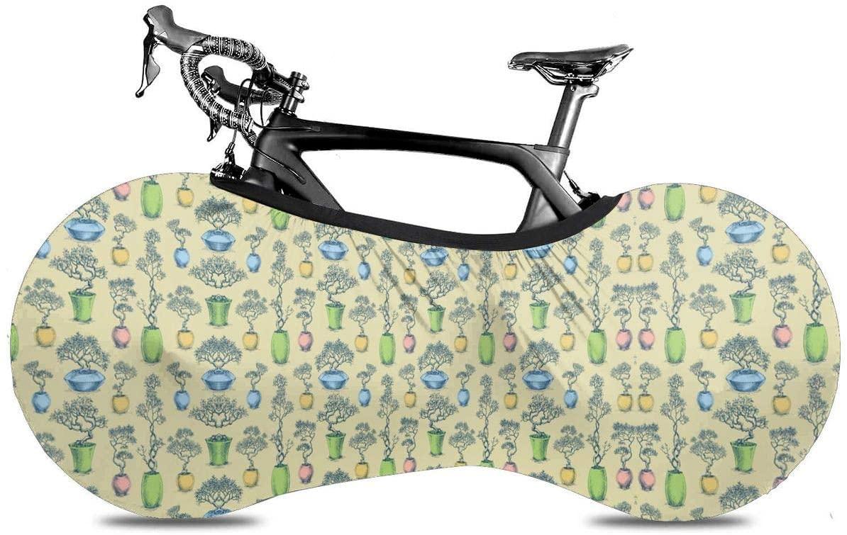 KLQ Bonsai Tree Bike Dust Cover Bicycle Wheel Protective Case