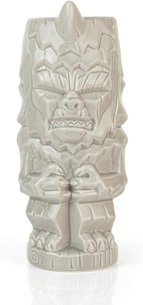 Official Star Trek: TOS Geeki Tikis Mug - The Mugato - 18-Ounce White Ceramic Cups - Fun Collectible Drinking Glass for Coffee, Water, Tea - Perfect Fan Gift for Home, Office, Parties - Licensed Items