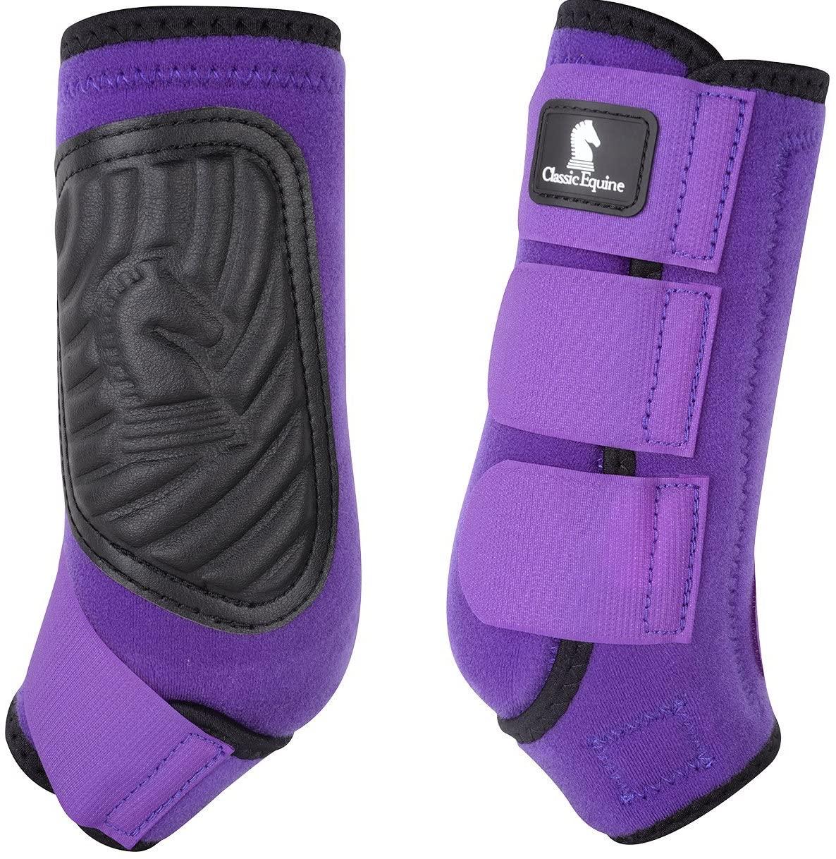 Classic Equine CLASSICFIT Purple Front Horse SMB Boots