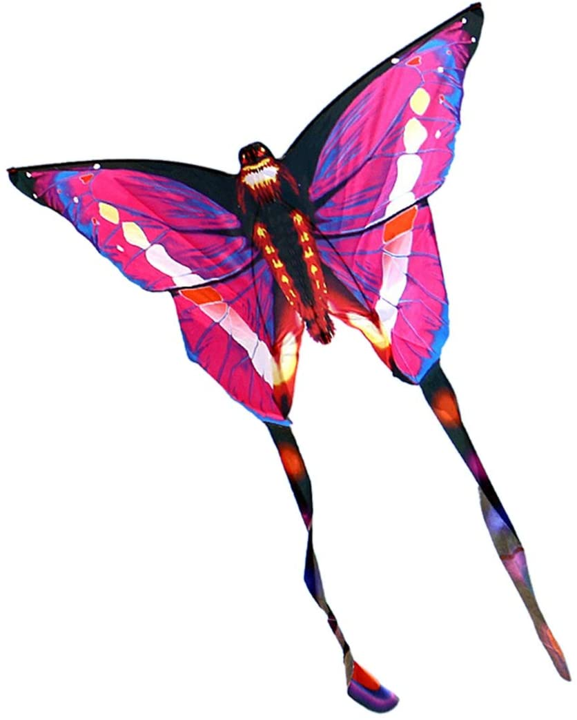 YYY Premium Kite, Kids Kite Beautiful Kites for Kids Easy to Fly for Beach Outdoor Quality Tearproof Colorful Butterfly Perfect Childhood Mate (Color : Color)