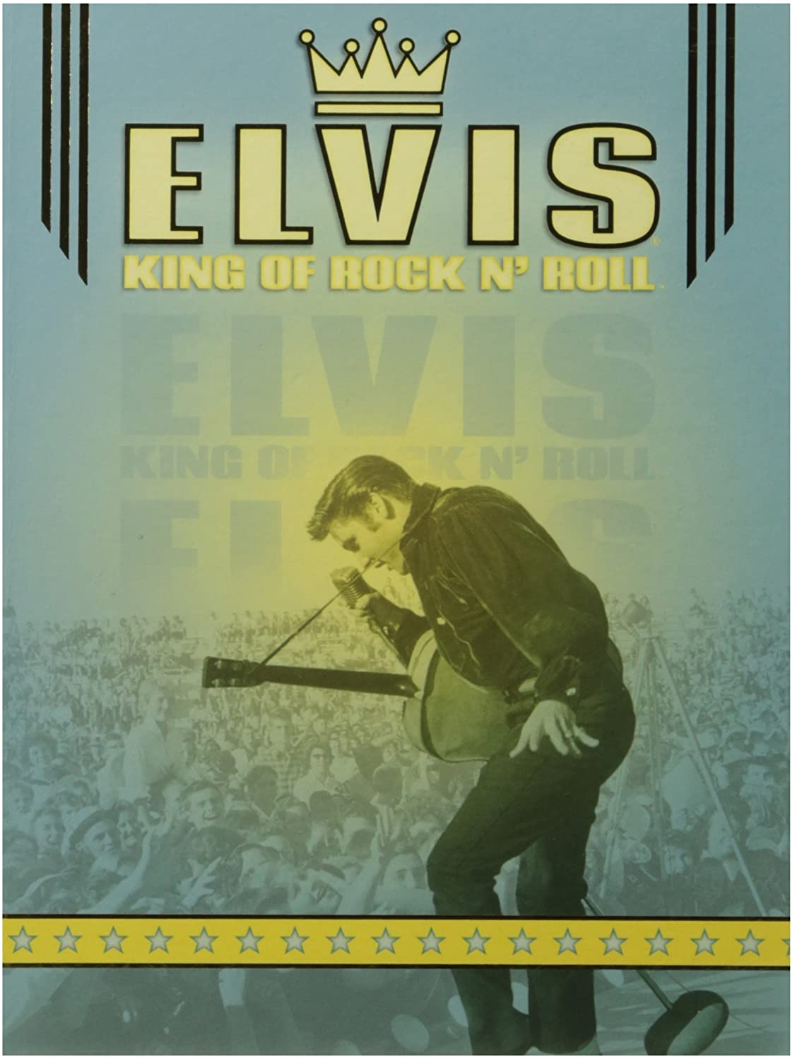 Paper House Productions Elvis the King 8.25 Embossed Hardcover Lay-Flat Binding Journal