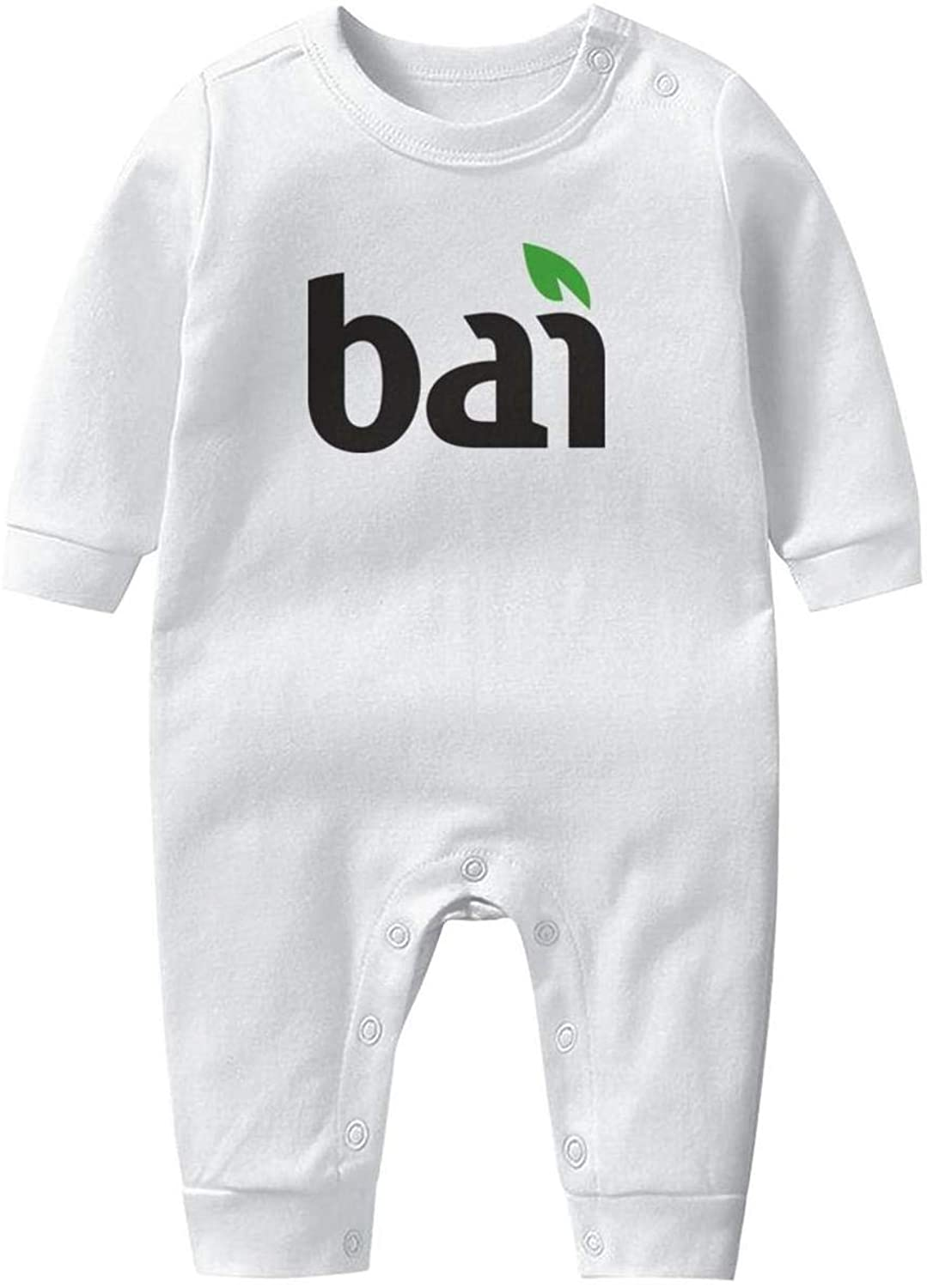 NIANLJHDe Bubble-Up-Soft-Drink- Baby Boys Girls Long Sleeve Baby Onesie Baby Romper