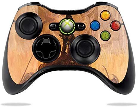 MightySkins Skin Compatible with Microsoft Xbox 360 Controller - Barbarian | Protective, Durable, and Unique Vinyl Decal wrap Cover | Easy to Apply, Remove, and Change Styles | Made in The USA