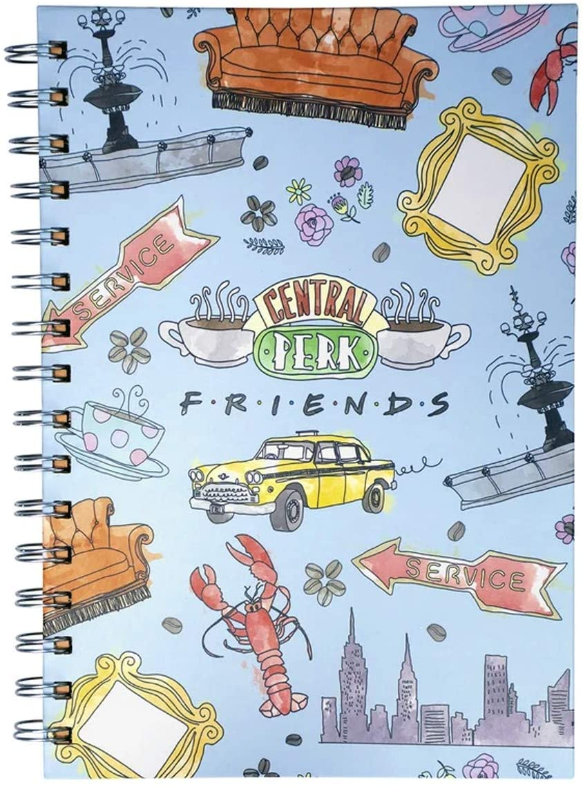 Blue Sky Studios Friends - A5 Wiro - Notebook/Journal - 80 Pages - Central Perk