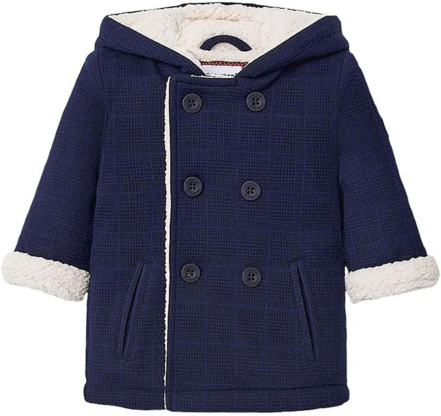Mayoral - Soft Checkered Coat for Baby-Boys - 2484, Blue
